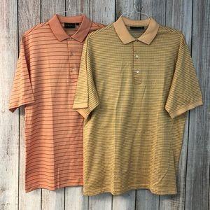 Booby jones polo shirts lot size L